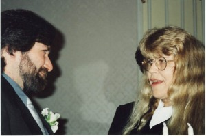 During our wedding vows 11/96